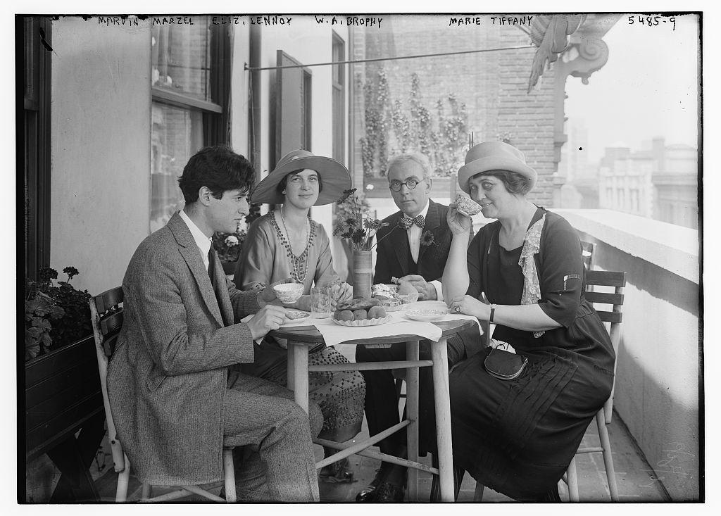 Marvin Mazel, Eliz. Lennox, W.A. Brophy, Marie Tiffany (LOC)