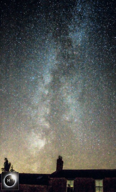 Milky Way from Oxfordshire (Reprocessed) 29/08/16