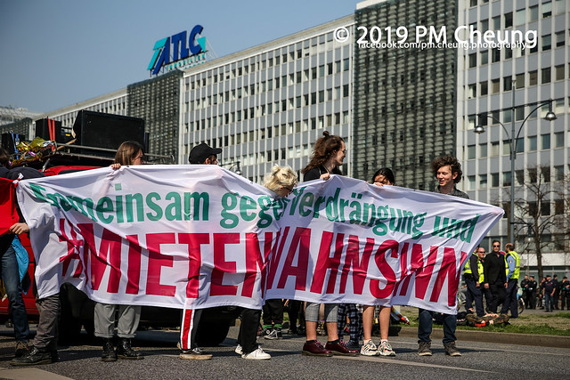 Demonstration: Gemeinsam gegen Verdrängung und Mietenwahnsinn – 06.04.2019 – Berlin - IMG_6398