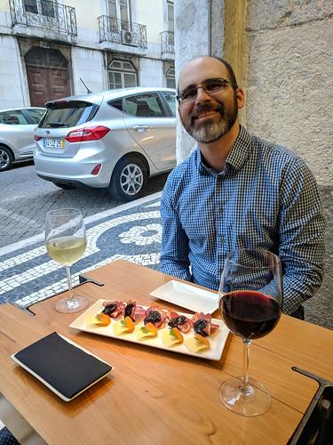 ERic and a quick snack @ Nova Wine Bar