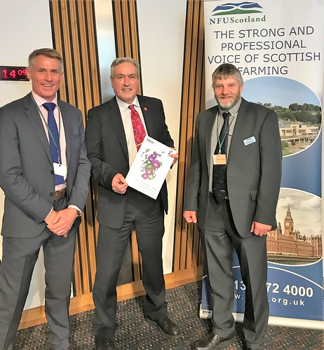 NFUS drop-in at Holyrood | by Iain Gray MSP