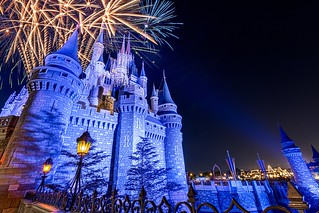 Castle Fireworks | Magic Kingdom | by Pandry 2015