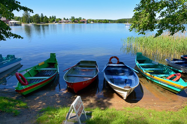 Trakai /  Lithuania / Let's go by boat