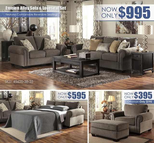 Emelen Alloy Sofa & Loveseat_45600-38-35-T732_Layout