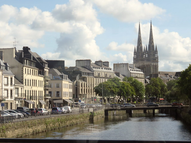 Quimper on the Odet and the Steir.