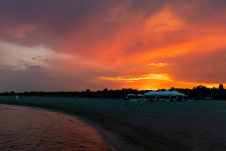Sunset on beach | by Photo-Sorko