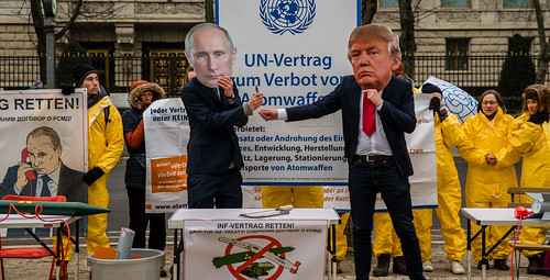 Reden statt Rüsten. Save the INF-Treaty | by ippnw Deutschland