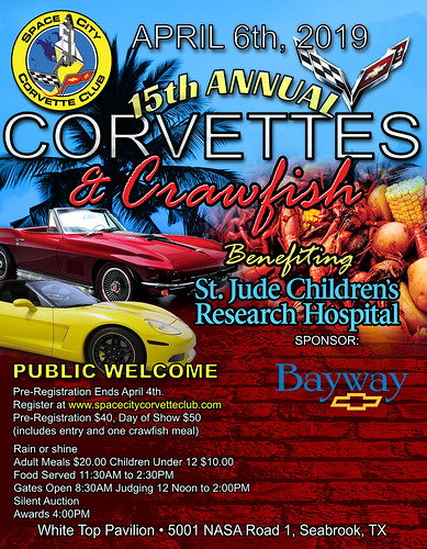 April 06 Corvettes & Crawfish Seabrook | by teejaze