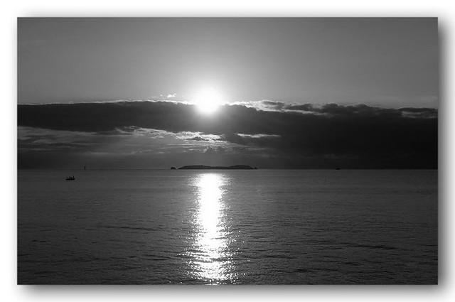 Saint-Malo. Sunset.