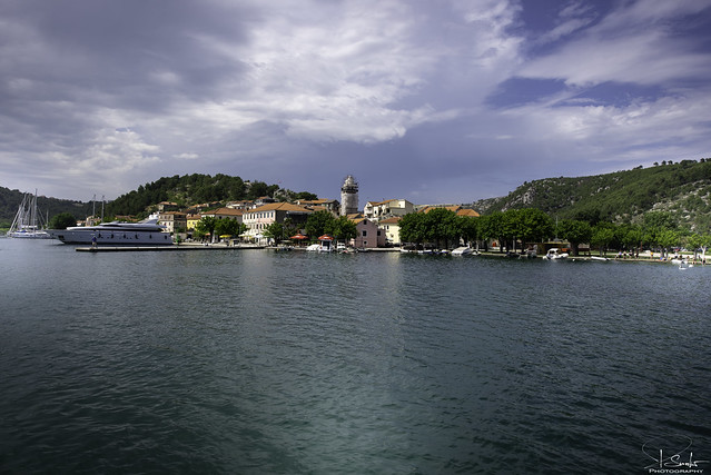 Arrived with boat to Skradin - Croatia