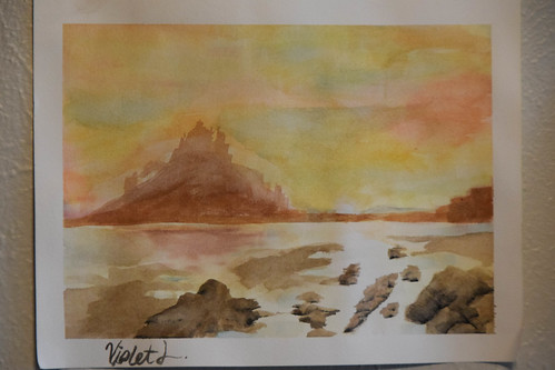 watercolor island castle | by Los Liffords de Tejas