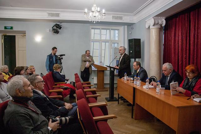 Апр 4 2019 - 20:04 - 04 апреля 2018 года - день рождения Дома национальных литератур. Фото: Арина Депланьи