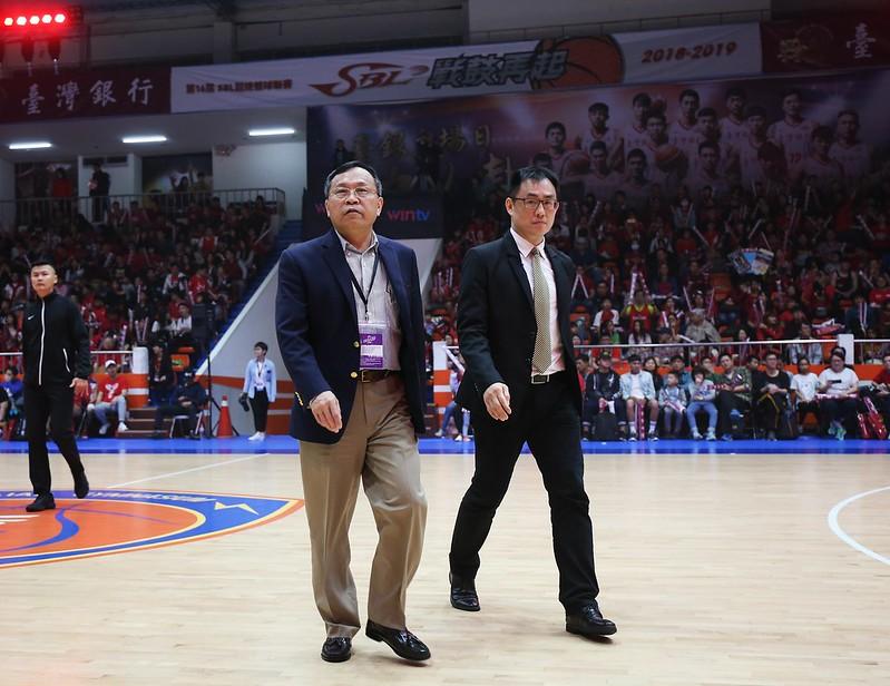 韋陳明認同台銀球員本季的努力。(籃協提供)