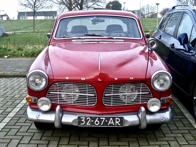 32-67-AR VOLVO Amazon 122S B18 Overdrive 1965