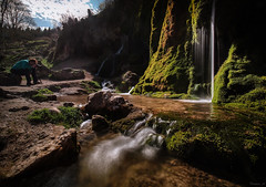 Capturing the beauty of a growing waterfall