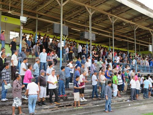 チェンマイ競馬場でのレース観戦