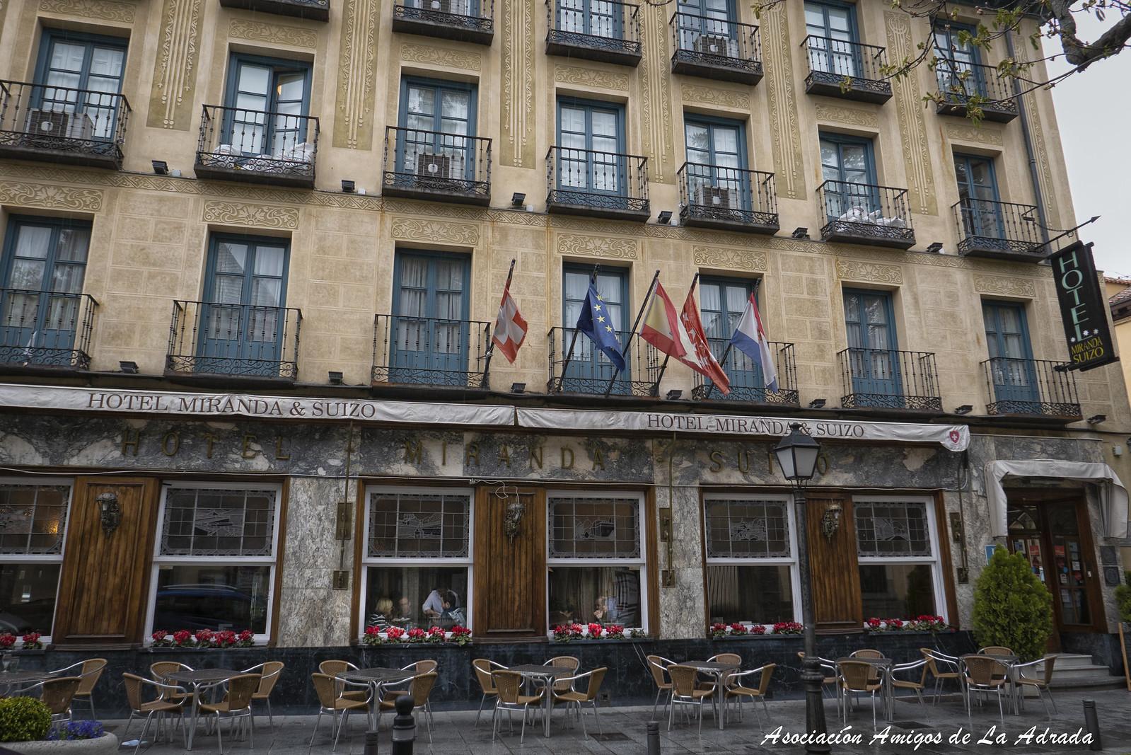 Comida en el Hotel Miranda&Suizo