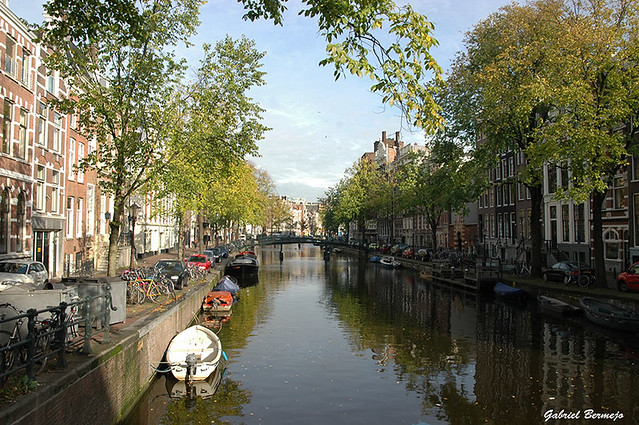 La calma se refleja - Amsterdam