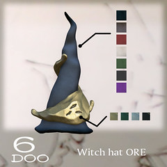 6DOO witch hat ORE@Enchantment