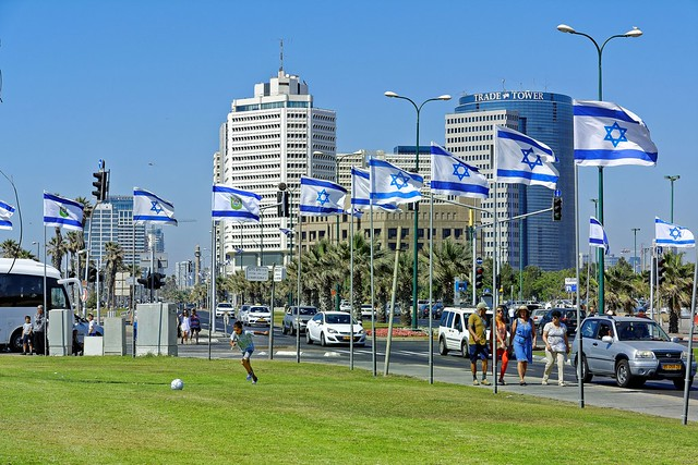 Tel Aviv / The Independence Day    / Yom Haʿatzmaout : יום העצמאות