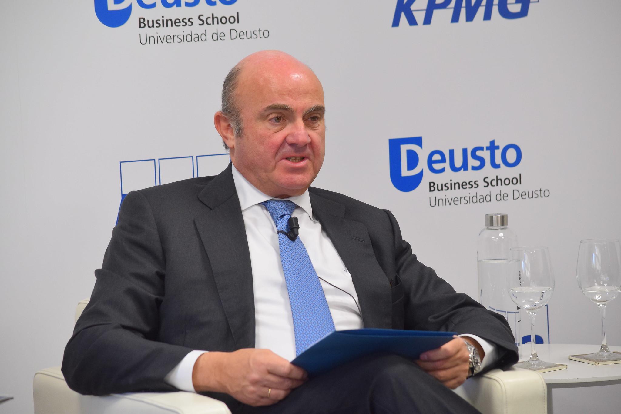 11/02/2019 - Ciclo las finanzas y sus desafíos con el vicepresidente del BCE, Luis de Guindos