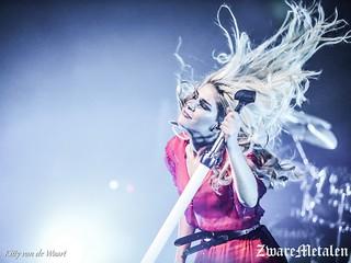 Delain - Bibelot   by Kitty van de Waart concert and music photography