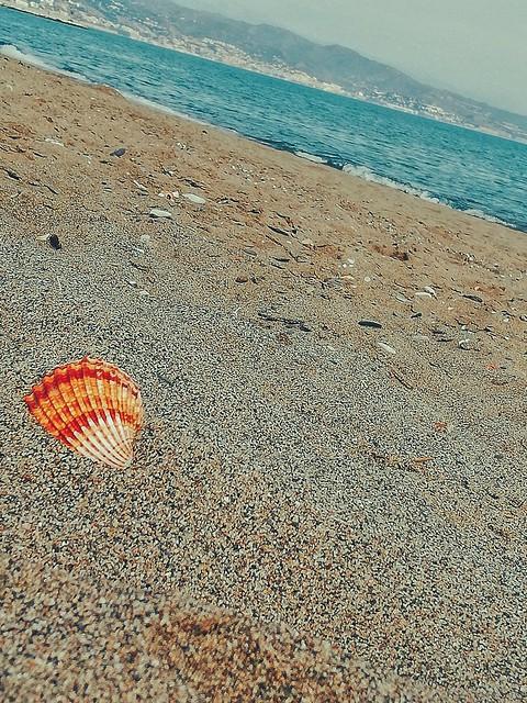 2/3/2019 Mi playa, buen libro, buena música y Málaga a mis pies, no se puede pedir más.