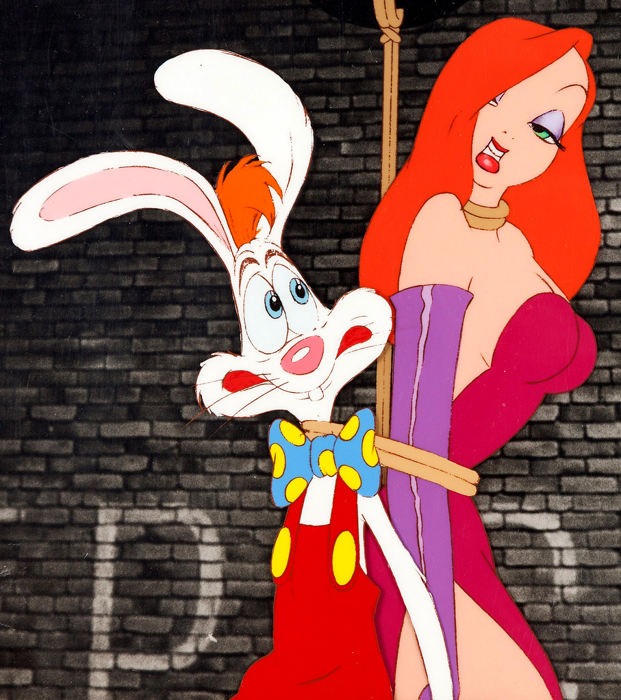 Jessica And Roger Rabbit Animation Cel From Who Framed Roger Rabbit 1988 A Photo On Flickriver