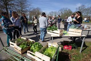 Les acheteurs Agrilocal40 visitent les Jardins de Nonères | by Departement des Landes