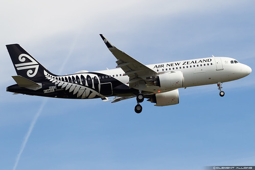 Air New Zealand Airbus A320-271N cn 8833 F-WWDE // ZK-NHC | by Clément Alloing - CAphotography