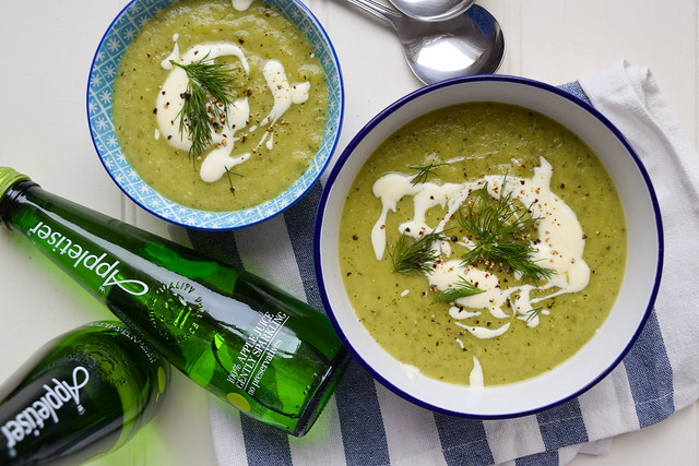 Appletiser Exclusive Image Courgette Soup