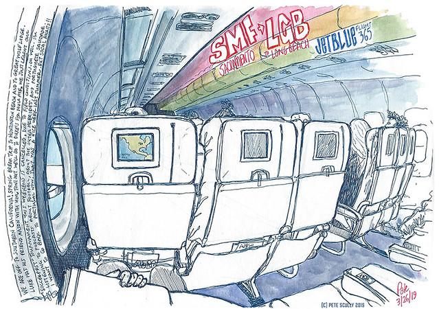 JetBlue SMF-LGB