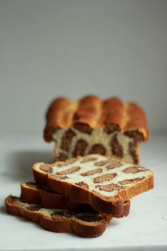 Chocolate & Orange Leopard Bread