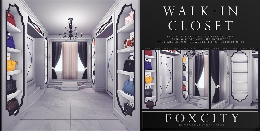 FOXCITY. Photo Booth - Walk-in Closet - TeleportHub.com Live!