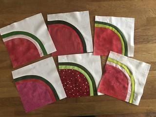 Watermelon blocks - Do Good stitches April