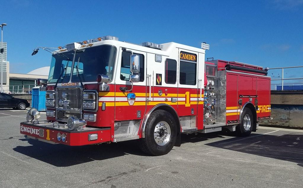 Camden NJ Fire Dept - Engine 1 | rwcar4 | Flickr