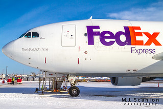 N809FD FedEx | Airbus A310-324(F) | Winnipeg International Airport