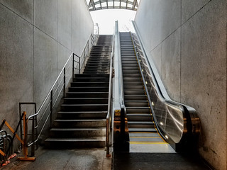 Cleveland Park Metro East Escalator Works! Rejoice!