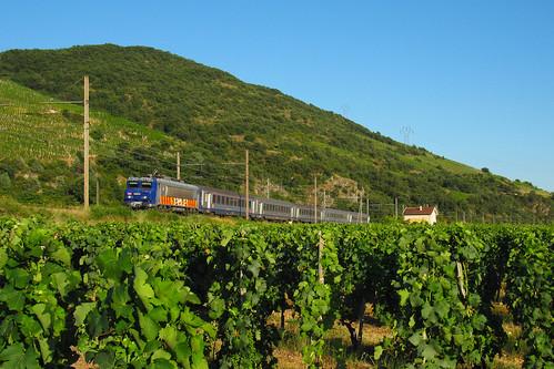 train ferroviaire bb22200 bb22200rc ter paca vigne gervans marseille lyon