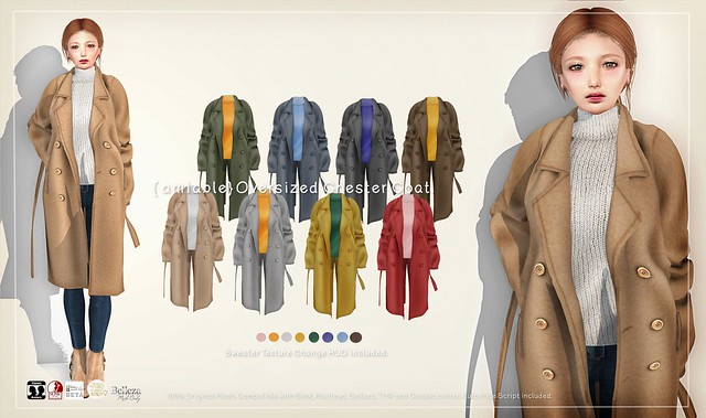 {amiable}Oversized Chester Coat@Collabor88 February.