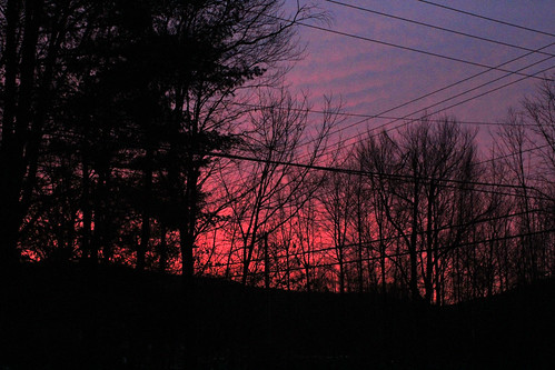 vermont winter outdoors snow sunrise