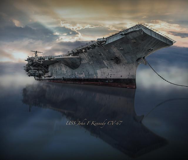USS JFK CV-67 RS 2145-
