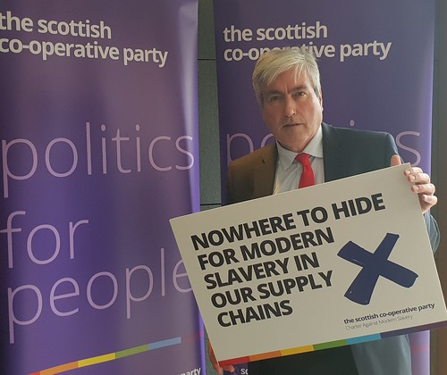Backing Co-op Party modern slavery campaign | by Iain Gray MSP