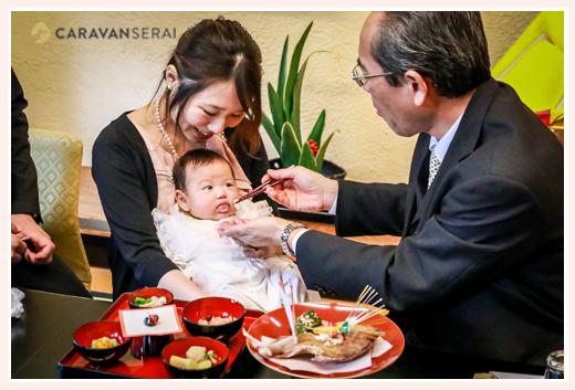 日本のよきしきたり・風習のお食い初め