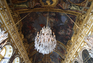 Chandelier at Versailles | by elianek