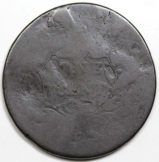 Fugio Cent Newman 107 die trial reverse | by Numismatic Bibliomania Society