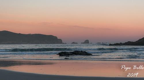 praia praiadesantacomba ssantacomba cobas ferrol ferrolterra galicia amanecer mencer sunrise
