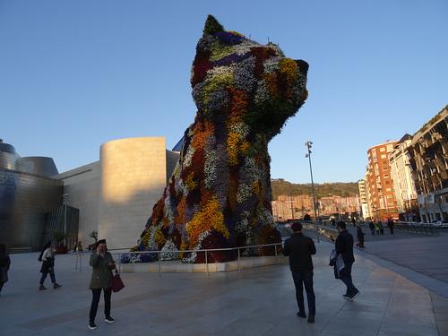 El perro más famoso de Bilbao