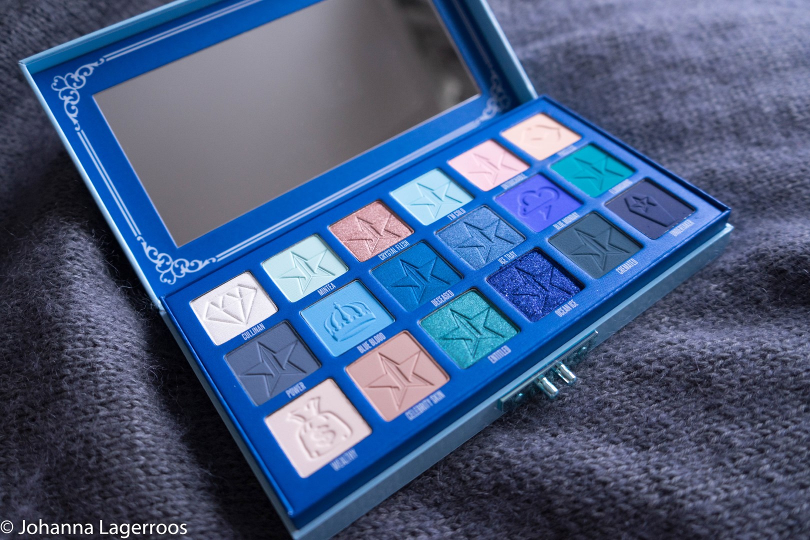 blue blood palette first impression