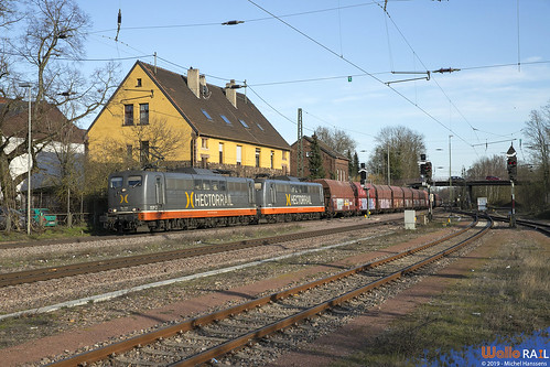 151 027 + 151 133 Hectorrail . 91872 . Bous (Saar) . 20.03.19.